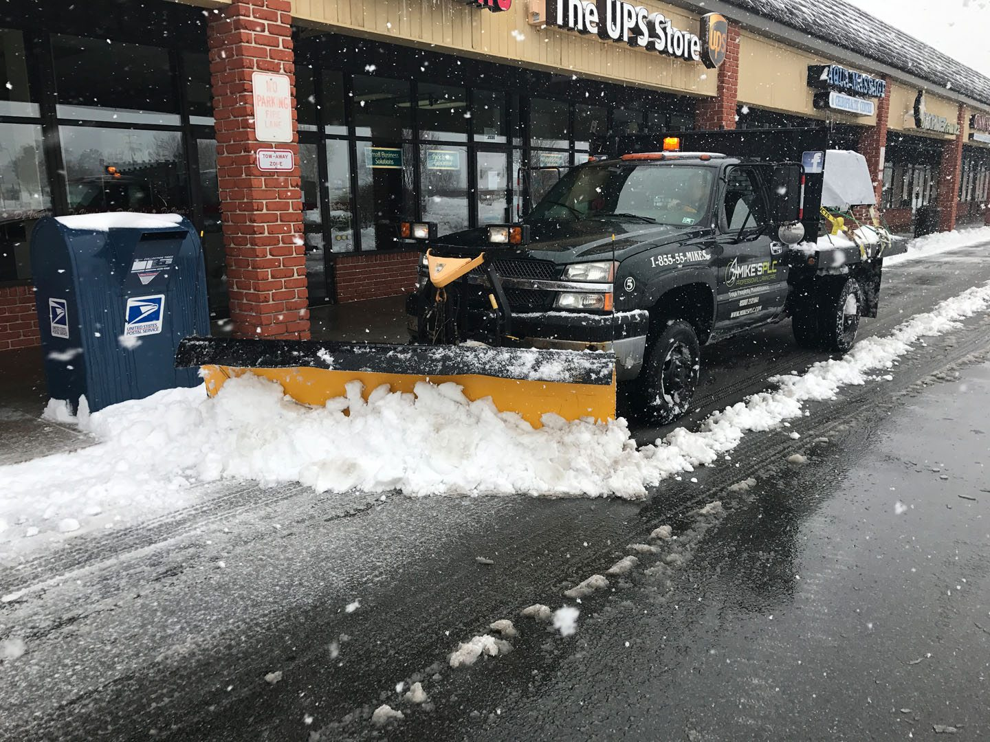 Mike's PLC Commercial Snow Removal