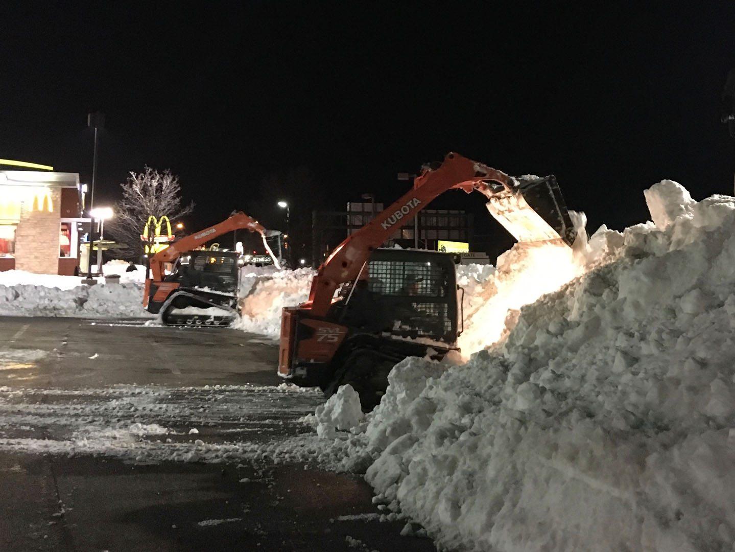 Mike's PLC Parking Lot Snow Removal